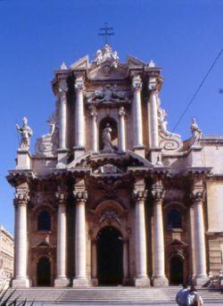 Tempio di Athena, Duomo di Siracusa