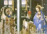 L'Annunciazione, tavola trasportata su tela, Antonello da Messina, 1474