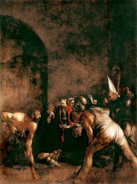 Caravaggio: Sepoltura di Santa Lucia